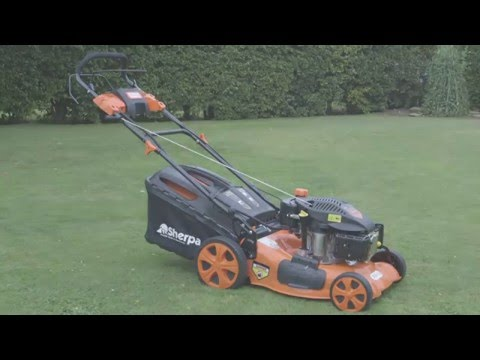 Sherpa Petrol Lawnmower with Electric Start