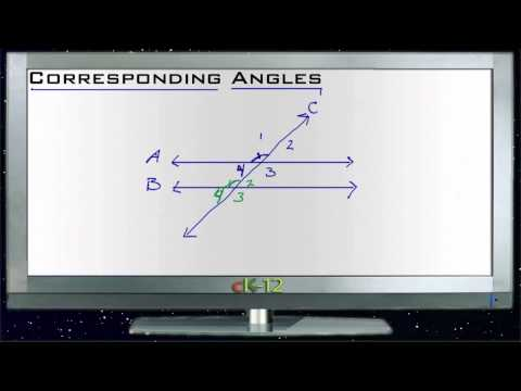 Corresponding Angles Principles - Basic