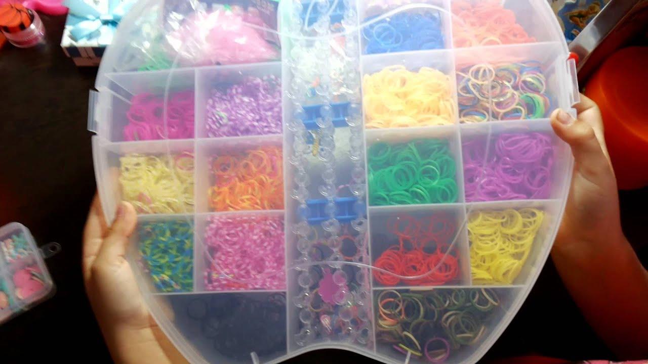 Видео обзор резинок для плетения