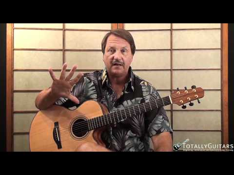 The Sounds Of Silence Acoustic Guitar Lesson - Paul Simon