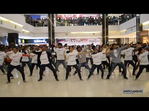 Sintillashunz '14 Flash Mob @ Manjeera Mall