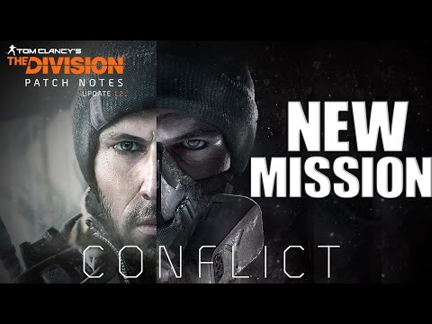 The Division Conflict Gameplay Mission Clear Sky Hard Mode [Ps4] Commentary