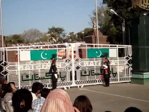 Wagah Border Ceremony (pakistan Vs. India) Opening video