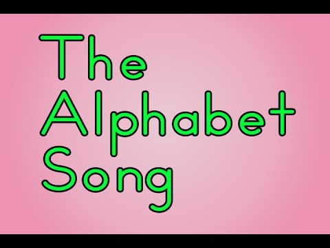 Alphabet Song | The Alphabet Song | Abc Song | Educational Songs | Children's Songs | Jack Hartmann video