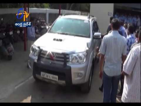 Cine Actor Pawan Kalyan Visits Gmr Vara Lakshmi Care Hospital In Rajam video