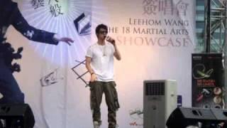 Wang Lee Hom Live in Malaysia - Ni Bu Zhi Dao De Shi