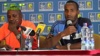 EthioTube Sports - Saladin Said of Ethiopia talks about Lesotho Game - June 2016