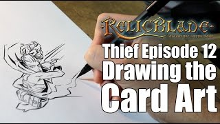 Thief Episode 12 - Drawing the Card Art