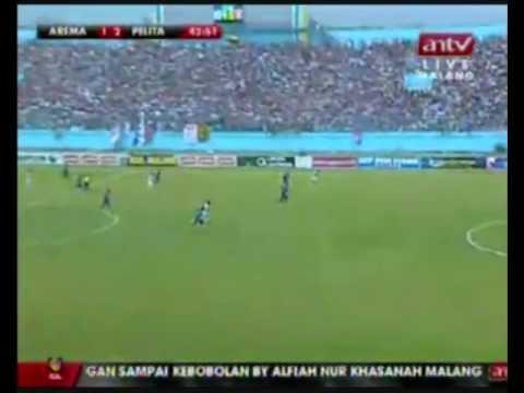 2011-12 Indonesia Super League - 28 April 2012 - Arema Indonesia vs Pelita Jaya