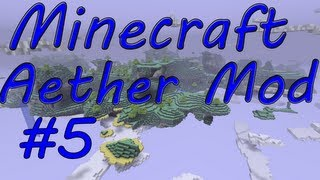 Minecraft 1.2.5/ Aether Pre-Release 1.9: Part 5 Urh death and death and death