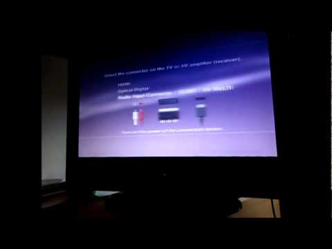 PS3 HDMI black screen problem