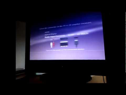 PS3 HDMI black screen problem