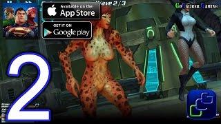 DC Comics Legends iOS Walkthrough - Part 2 - Campaign 1: Curse of the Black Lanterns - Chapter 1