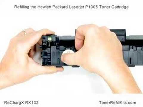 HP Laserjet P1005 Toner Cartridge Refill
