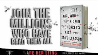 The Girl Who Kicked the Hornet's Nest by Stieg Larsson (book trailer)