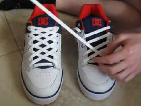 Straight Laced Shoes  Holes