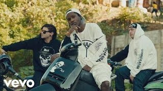 Клип Asap Rocky - Wild For The Night ft. Skrillex