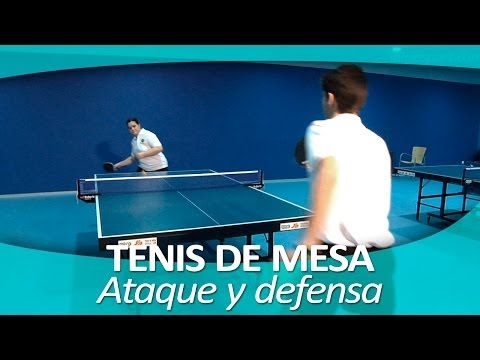 TENIS DE MESA 8.  Ataque Y Defensa