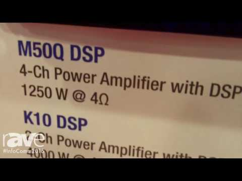 InfoComm 2016: Powersoft Audio Introduces Touring Amplifier Series