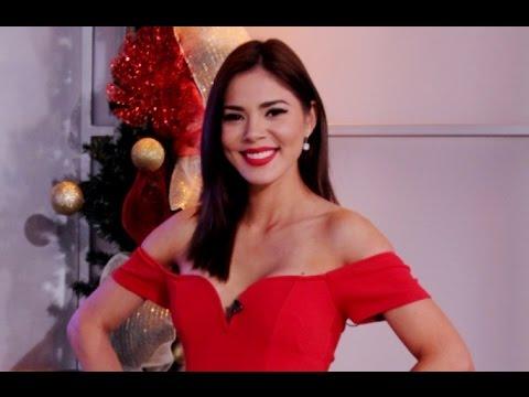 Idubina Rivas en Viva la Mañana después de Miss Universo