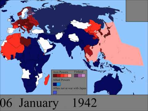 World War Ii In Europe And The Pacific: Every Day video