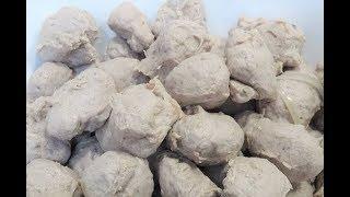 BÒ VIÊN - Bí quyết để xay Thịt làm BÒ VIÊN DAI GIÒN tại nhà by Vanh Khuyen