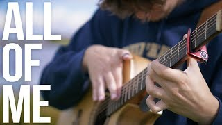 Download Lagu John Legend - All of Me - Fingerstyle Guitar Cover Gratis STAFABAND