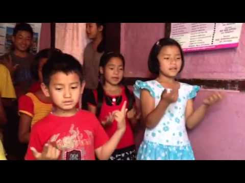 Nepali Kids Praising God In Song video