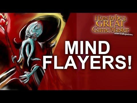 DnD Mind Flayers DnD Monster Spotlight Game Master Tips