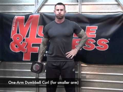 Uneven Arms Biceps Training Tips f...