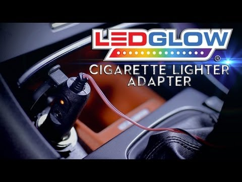 LEDGlow's Cigarette Lighter Adapter