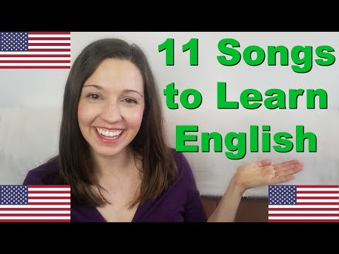 11 Songs for English Fluency [Learn English With Music]