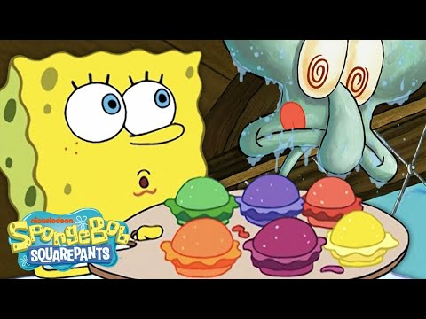 Every Krabby Patty EVER! 🍔   #SpongeBobSaturdays