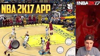 NBA2K17 APP GAMEPLAY - Live Let's Play - iOS & Android