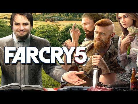 """Мэддисон играет в Far Cry 5 - """"БЛ#ТЬ ДЕД ТВОЙ ГРЕШНИК"""""""