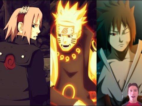 Naruto Manga Chapter 675 Review-- Team 7 Re-Reunion! Naruto & Sasuke & Sakura VS Madara!