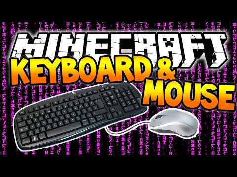 Minecraft Keyboard and Mouse Challenge w/Jerome! (Block Rider)