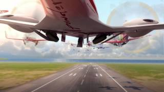 Disney: Planes (Pixar Cars spin-off) Takes Flight (HD 1080p)