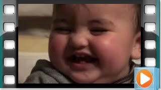 Baby Laughing Funny and Hysterically With His Old Sister - Baby Home Videos