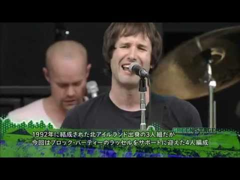 Ash - Shining Light  Joy Kicks Darkness Fuji Rock Festival'10 )