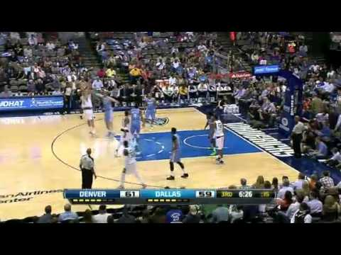 Denver Nuggets Vs Dallas Mavericks 12 April 2013 - NBA CIRCLE Highlights http://www.nbacircle.com