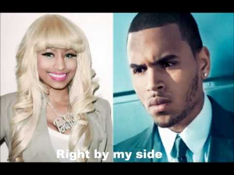 Nicki Minaj Ft. Chris Brown - Right By My Side New video