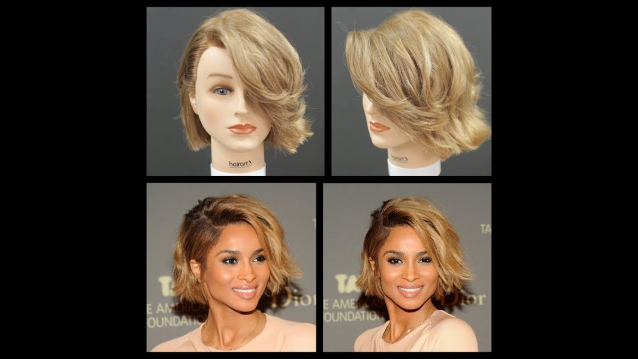 Ciara New Haircut Amp Hairstyle Tutorial Thesalonguy Youtube