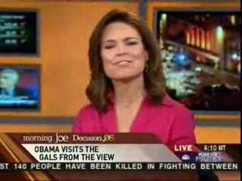 "Morning Joe - Barack Obama LIES AGAIN "" The View """