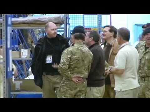 Defence Secretary meets British troops in Afghanistan 05.01.11
