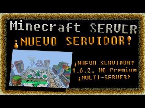 Minecraft Server HD - ¡Nuevo servidor! 1.6.2, NO-Premium, ¡MULTI Server!