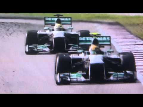 Hamiltion vs Rosberg : Team Orders From Ross Brawn : Malaysia F1