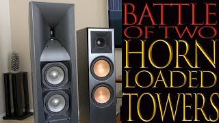 Battle Of Two Towers, Klipsch RP-8000F Review