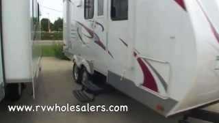 2011 Fun Finder X X-210WBS Travel Trailer Camper at RVWholesalers.com 021215 - Everglade