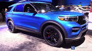2020 Ford Explorer ST - Exterior and Interior Walkaround - Debut at 2019 Detroit Auto Show